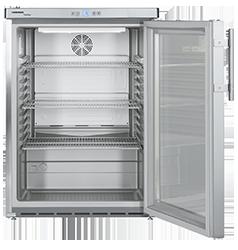 Premium Kühlgerät Mit Edelstahl Außengehäuse. Fugenfrei Ausgeführt, Somit  Hygienisch Und Pflegeleicht. Die Energiesparende LED Innenraumbeleuchtung  Sorgt ...